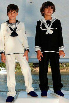 Vestido de comunión niño Marineros Varones