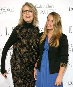 """Diane Keaton adopted both of her kids—daughter Dexter (pictured), adopted in 1996, and son Duke, adopted in 2001—as a single mom in her 50s. """"When I adopted, I immediately had to change as a person and become more giving,"""" the infinitely stylish Keaton, now 66, has said. """"It made me realize that I was completely self-involved."""