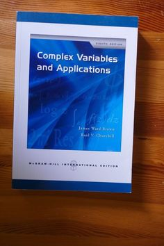 Complex Variables and Applications James Ward Brown and Ruel V. Churchill