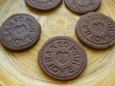 Stamped Chocolate Biscuits