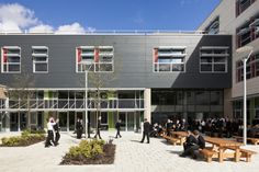 Cornwallis Academy · Projects · Jestico + Whiles