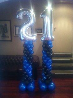 Balloon Decorations 21 BalloonsBalloons