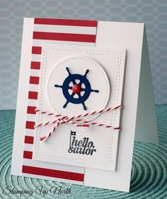Stampin' Up Hello Sailor