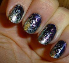 I'm not great at precise nail art. Nail Stencils, Nail Polish, Nail Art, Nails, Beauty, Finger Nails, Ongles, Nail Polishes, Cosmetology