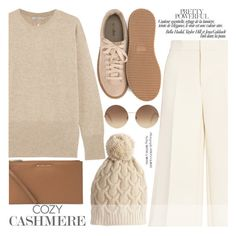 """""""Cozy Cashmere Sweaters"""" by aislinnhamilton1993 ❤ liked on Polyvore featuring Vince, Joseph, Nly Shoes, Michael Kors, Victoria Beckham, Calypso St. Barth, sweaters and cashmere"""