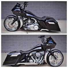 "BX Special of the day!! 2012 Road Glide with 23"" Tahoe front wheel, matching 17"" rear wheel, Yaffe tank & stretched bags & fender! $25850.00… #harleydavidsonroadglidespecial"