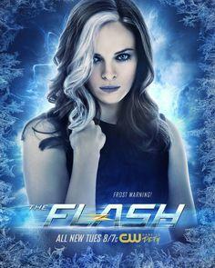 Killer Frost aka Caitlin Snow #DaniellePanabaker #TheFlash