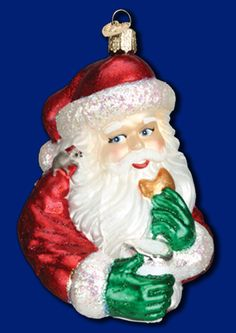 OLD WORLD SANTA ORNAMENTS CHOOSE Father Christmas Glasses Fur Bells Years MORE