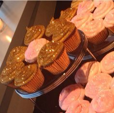 Glitter cupcakes...a must!!!!