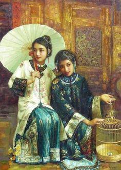 Di Li Feng 1958 - Di Li Feng es uno de los más grandes artistas contemporáneos de China, que ahora trabaja como profesor en la Academia de Lu Xun de Bellas Artes, en China. Nacido en una pequeña ci...