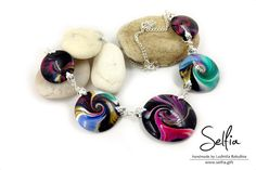"Necklace ""Iridescent Space"""