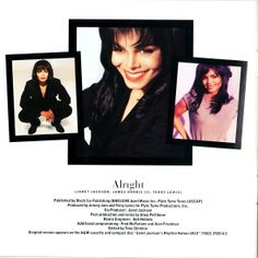 Janet Jackson DESIGN OF A DECADE 1986/1996 (inside)