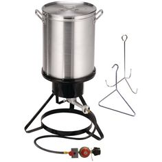 Propane Turkey Deep Fryer Burner Thanksgiving Dinnertable Aluminum Pot Cooker #Masterbuilt