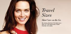 Avon Travel Size Skin Care Products | TSA Approved, Travel-Friendly Minis of your favorite Avon Skin Care Products! #Avon