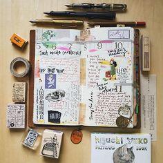 week 36。just write carelessly #travelersnotebook