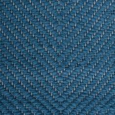 Vertical Herringbone, blue on the white yarn Vandra Rugs Yarn Colors, Natural Linen, Scandinavian Design, Herringbone, Wool Felt, Bespoke, Rugs, Interior, Fabric