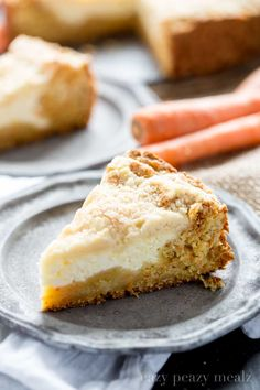 Carrot cake meets coffee cake, and together they are a beautifully tasty concoction you won't be able to resist. A delicious carrot cake base, cream cheese center, and crumb topping. I am a huge fan of coffee cake, even as a non-coffee drinker, I love the idea of a piece of cake with my morning …