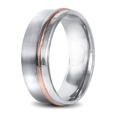 Mens wedding ring rose and white gold Wedding Men, Wedding Rings, Rings For Men, Bands, White Gold, Engagement Rings, Jewels, Gallery, Rose