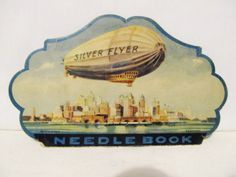 US 1930s_Silver Flyer Needle Book