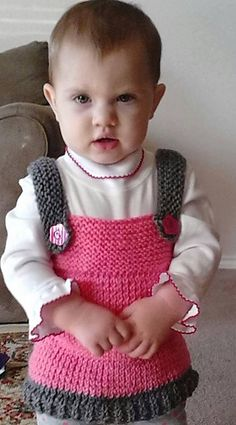 Knitting Patterns Galore - Toddler's Tunic