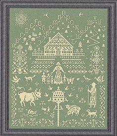 A Simpler Life - Cross Stitch Pattern - 123Stitch.com