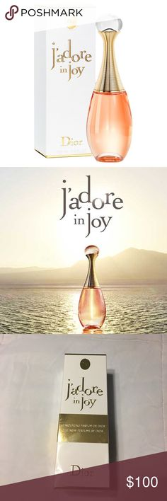 New Jadore in joy by Christian Dior It's the newest version of the Jadore family an amazing, beautiful, energizing fragrance! Absolutely authentic like every other item in my closet. Made in France 🇫🇷 Christian Dior Makeup Brushes & Tools