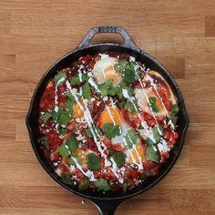 Huevos Rancheros-ish Bake Recipe by Tasty