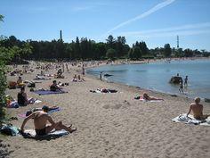 Hietaniemi Beach, Helsinki, Finland