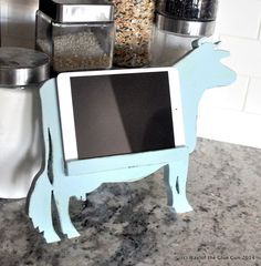 Hometalk :: Cow Kitchen Tablet Stand