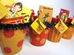 Vintage Inspired Halloween Baskets