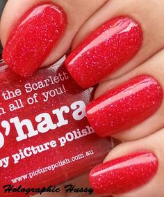 piCture pOlish O'Hara swatched by Holographic Hussy!  Totally hussy!