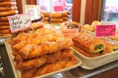 Three Girls Bakery is a Market institution serving up freshly baked pastries and juicy sandwiches.