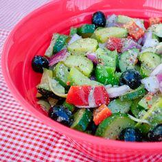 Marinated Zucchini Salad   Real Mom Kitchen