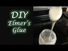 DIY Elmer's Glue | how to make non toxic and Eco Friendly Elmer's Glue at home - YouTube