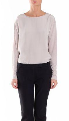 Tibi Guinevere Long Sleeve Top