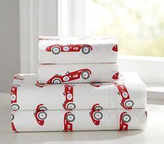Vintage Cars Sheet Set, Extra Pillowcase