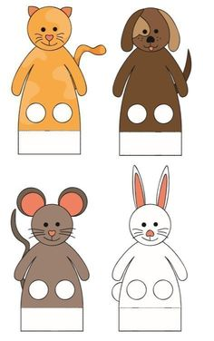 Ideas Crafts Pattern Finger Puppets 2020 for Kids Kindergarten Finger Puppet Patterns, Finger Puppets, Felt Patterns, Craft Patterns, Preschool Crafts, Diy Crafts For Kids, Toddler Activities, Preschool Activities, Puppet Crafts