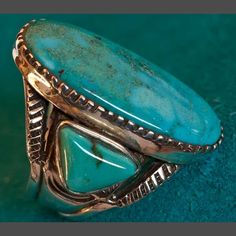 Turquoise Ring by Ernie Lister