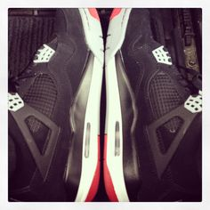 Bred 4's...