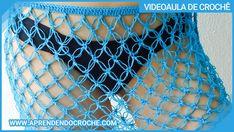 Aprenda como fazer uma saída de praia em crochê super simples para iniciantes! Swimsuits, Bikinis, Crochet Bikini, Shorts, Pattern, Macrame, Crochet Beach Dress, Beach Kaftan, Crochet Leaves