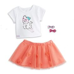 American Girl Coconut Cutie Outfit for Dolls Charm My AG 2014 for sale online Cosas American Girl, All American Girl Dolls, American Girl Clothes, My Life Doll Accessories, American Girl Accessories, Baby Alive Doll Clothes, Doll Clothes Barbie, Baby Dolls, Our Generation Doll Clothes