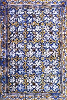 azulejos-portugueses Azulejos de Portugal, Portuguese Tiles, azulejos