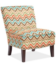 Coryn Fabric Accent Chair, Direct Ship - Furniture - Macy's