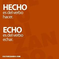 Hecho/echo