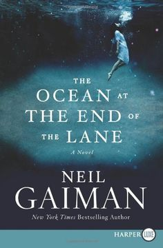 The Ocean at the End of the Lane by Neil Gaiman Neil Gaiman, The End, Get Over It, Great Books, Bestselling Author, Book Worms, Books To Read, Novels, Ocean