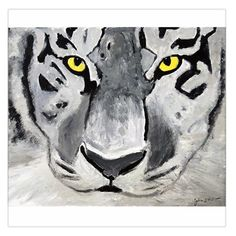 """The Eye Of The Tiger Large Satin Scarf (Square) •100% Polyester •Size: 36""""x 36""""  •Shape: Square •Soft and Smooth material •High Quality Printing •Fully Customizable"""