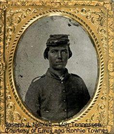 Joseph J. or Jones Daly Neblett,  Company H, 14th Tennessee Infantry Regiment.