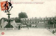 le Lycée de Garçons (boulevard Gambetta) accueille l'Hôpital complémentaire n°6 et l'Hôpital auxiliaire n°202, dit des dames françaises.