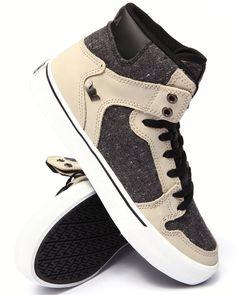 Supra - Vaider Tan Leather Sneakers