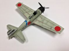 1/72 Mitsubishi A6M3 (Hamp) - Zero Fighter Model 32-Tamiya